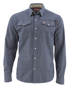 SIMMS Stillwater Shirt Chambray Indigo