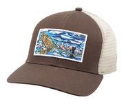 SIMMS Artist Trucker Brown