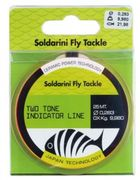 Soldarini Fly Tackle, Two Tone Indicator Line