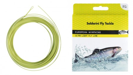 ​Soldarini Fly Tackle,  European Nymphing, Ultra Light Fly Line​