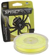 Spiderwire Ultimate Braid 110m, Keltainen