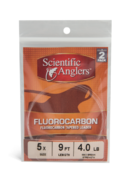 Scientific Anglers - Fluorocarbon kartioperuke #12 9' (0,33mm) 2 kpl.