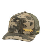 SIMMS Payoff Trucker (Pike) Hex Flo Camo Timber