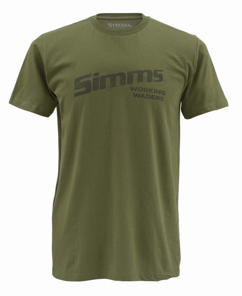 SIMMS Working Waders Olive, T-paita